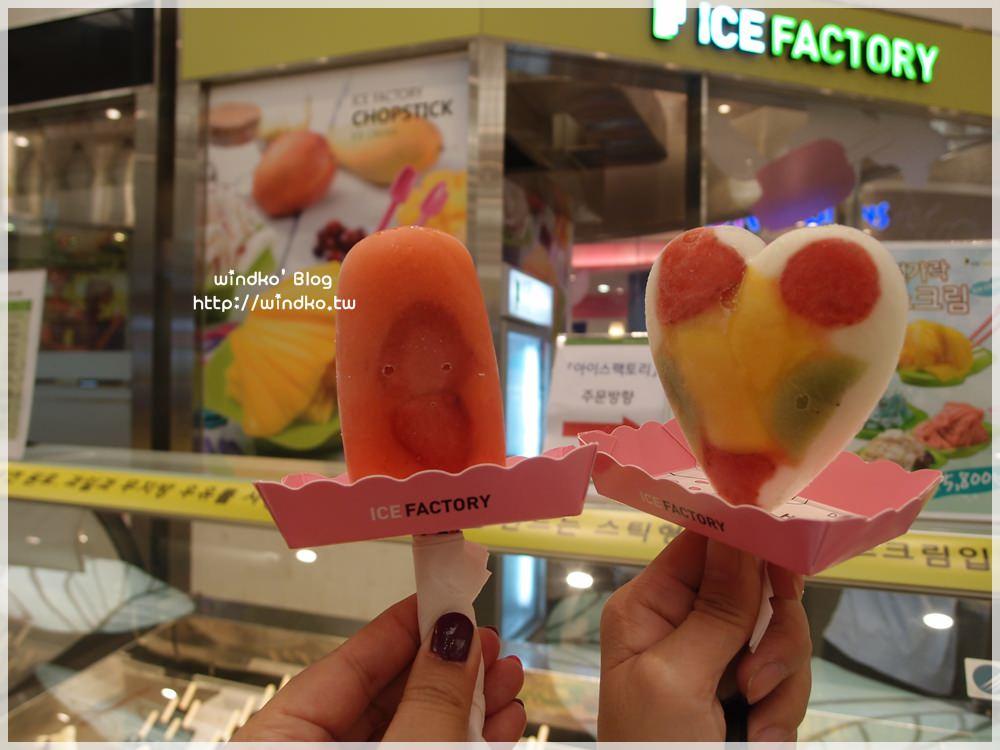 韓國自由行∥ 釜山南浦洞食記:Ice Factory – 可以吃到真正水果的手工冰棒