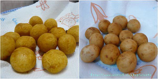 食譜∥ 超簡易國民小吃!QQ球(地瓜球、芋頭球)