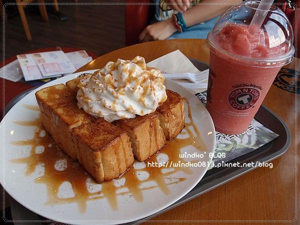 ∥韓國釜山∥ 溫泉場站食記:TOM N TOMS COFFEE – 蜂蜜奶油吐司酥脆好好吃