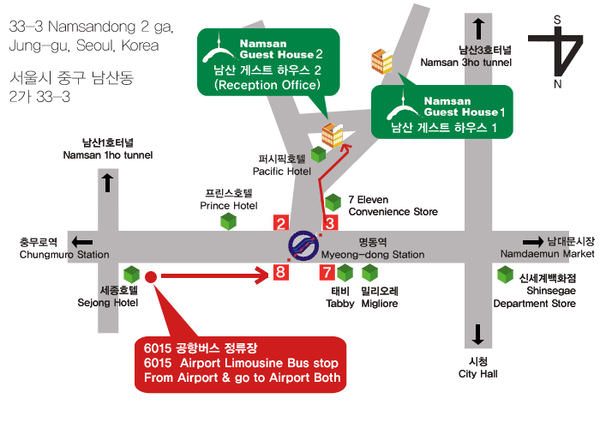 Namsan Guest House map.jpg