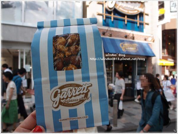 日本東京自∥ 明治神宮前站(原宿)。Garrett Popcorn – 來自美國的人氣爆米花,熱量滿滿卻也十分罪惡滿足!